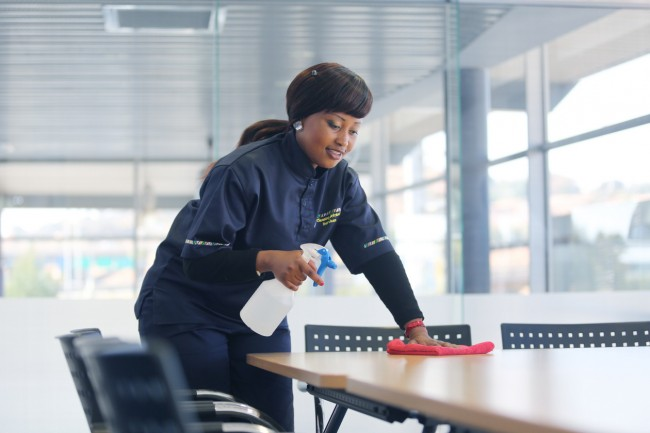 Cleaning Africa offers the full range of cleaning services