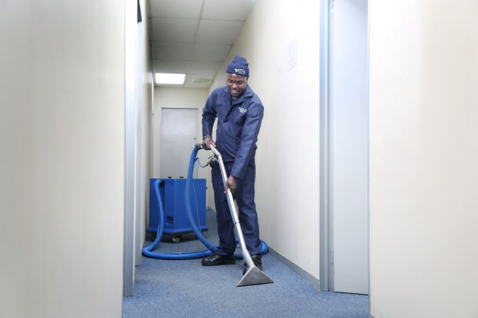 Vacuuming floors 101: Basic Skills & Development training, Cleaning Africa Services