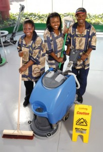 Cleaning Africa Staff