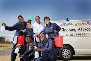 Cleaning Africa Team