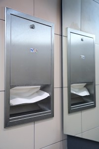 Cleaning Africa Paper Towel Dispenser