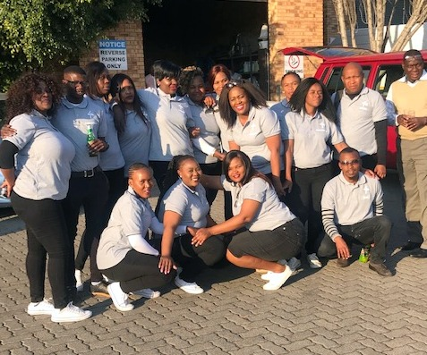 Recently Qualified Team of Supervisors, Cleaning Africa Services