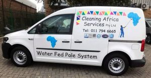 Window Cleaning Vehicle - Cleaning Africa Services