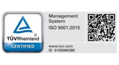 Our ISO certification